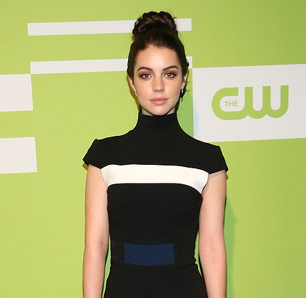 Adelaide Kane in Alex Perry | CW Upfronts 2015