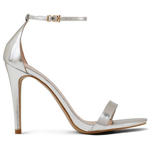 ALDO 'Paules' Metallic Ankle Strap Sandals
