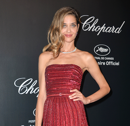 Ana Beatriz Barros in Elie Saab Couture | Chopard Gold Party - 2015 Cannes Film Festival