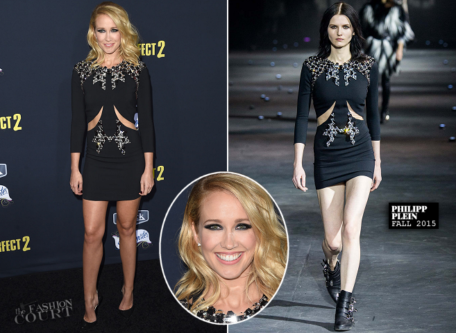 Anna Camp in Philipp Plein | 'Pitch Perfect 2' LA PremiereAnna Camp in Philipp Plein | 'Pitch Perfect 2' LA Premiere