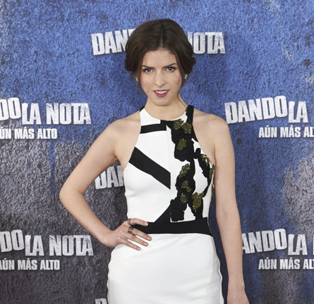 Anna Kendrick in Narciso Rodriguez | 'Pitch Perfect 2' Madrid Photocall