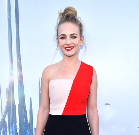 Britt Robertson in Fausto Puglisi | 'Tomorrowland' World Premiere