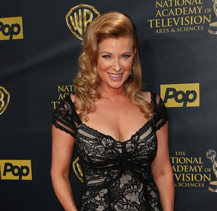 Cady McClain in Nicole Miller | 2015 Daytime Emmys