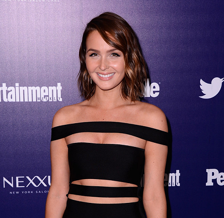 Camilla Luddington in Balmain | New York Upfronts Celebration 2015