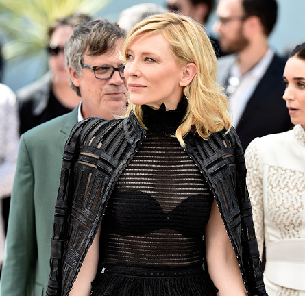 Cate Blanchett in Alexander McQueen | 'Carol' Photocall - 2015 Cannes Film Festival