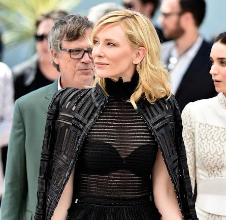 Cate Blanchett in Alexander McQueen | 'Carol' Photocall - 2015 Cannes Film Festival