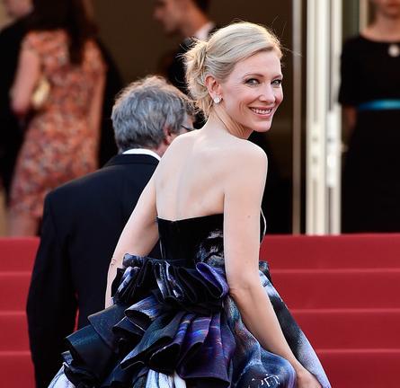 Cate Blanchett in Giles | 'Carol' Premiere - 2015 Cannes Film Festival