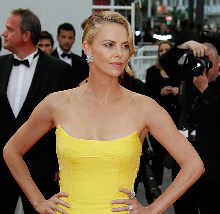 Charlize Theron in Dior Couture | 'Mad Max: Fury Road' Premiere - 2015 Cannes Film Festival