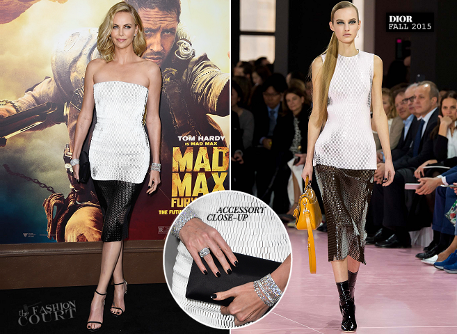 Charlize Theron in Dior | 'Mad Max: Fury Road' Hollywood Premiere