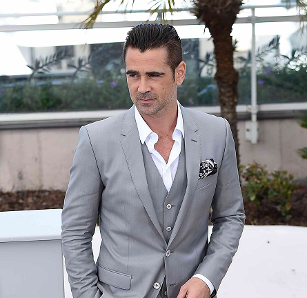 Colin Farrell in Dolce & Gabbana | 'The Lobster' Photocall - 2015 Cannes Film Festival