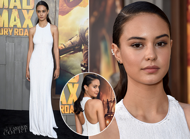 Courtney Eaton in Michael Kors | 'Mad Max: Fury Road' Hollywood Premiere