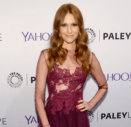 Darby Stanchfield in Rhea Costa | The Paley Center: An Evening with the Cast of 'Scandal'