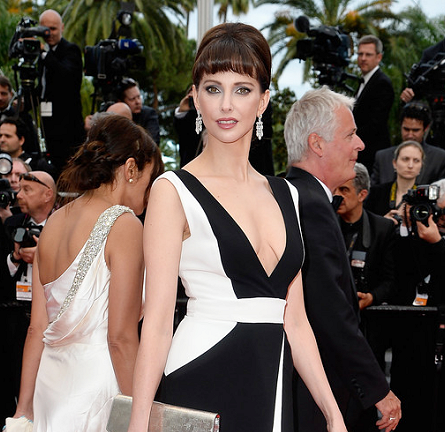 Frédérique Bel in Zuhair Murad | 'Irrational Man' - 2015 Cannes Film Festival