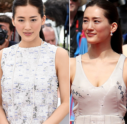 Haruka Ayase in Dior Couture | 'Umimachi Diary' Photocall & Premiere - 2015 Cannes Film Festival