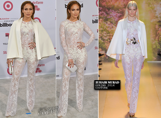 Jennifer Lopez in Zuhair Murad Couture & Atelier Versace | 2015 Latin Billboard Music Awards