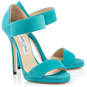 Jimmy Choo 'Lee' Suede Sandals