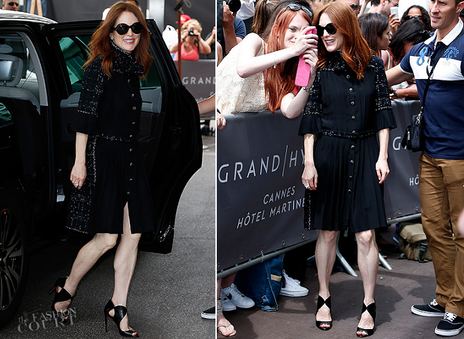 Julianne Moore in Chanel | 2015 Cannes Film Festival - Day 1