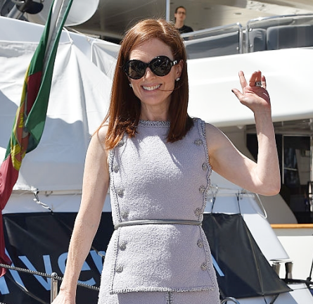 Julianne Moore in Chanel Couture | 2015 Cannes Film Festival - Day 3
