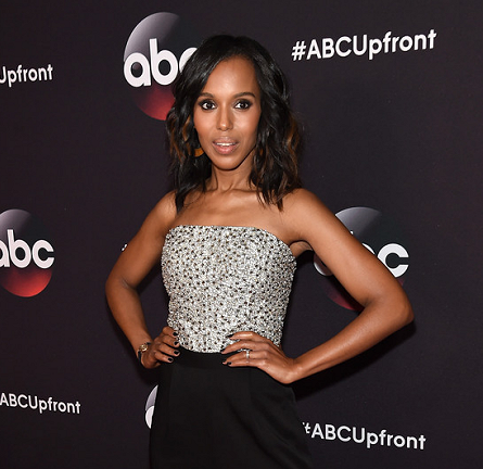 Kerry Washington in Alice + Olivia | ABC Upfronts 2015
