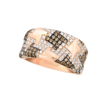 Le Vian Vanilla and Chocolate Diamond Band Ring