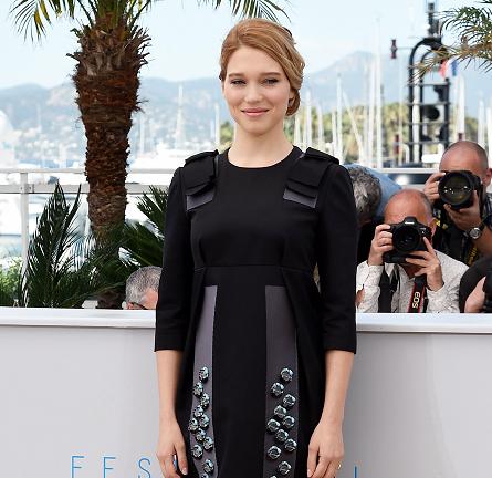 Léa Seydoux in Prada | 'The Lobster' Photocall - 2015 Cannes Film Festival