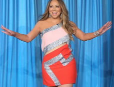 Mariah Carey in Versace | 'The Ellen DeGeneres Show'