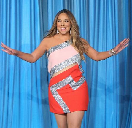 Mariah Carey in Versace | 'The Ellen DeGeneres Show'