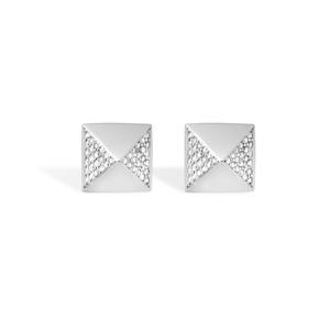 Messika Diamond Pyramid Stud Earrings