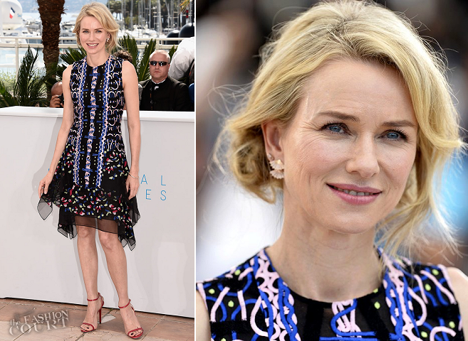 Naomi Watts in Peter Pilotto | 'The Sea of Trees' Photocall - 2015 Cannes Film Festival