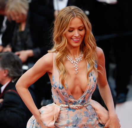 Petra Nemcova in Zuhair Murad Couture | 'Sicario' Premiere - 2015 Cannes Film Festival
