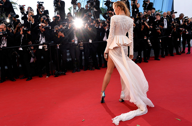 Petra Nemcova in Zuhair Murad Couture | 'Youth' Premiere - 2015 Cannes Film Festival