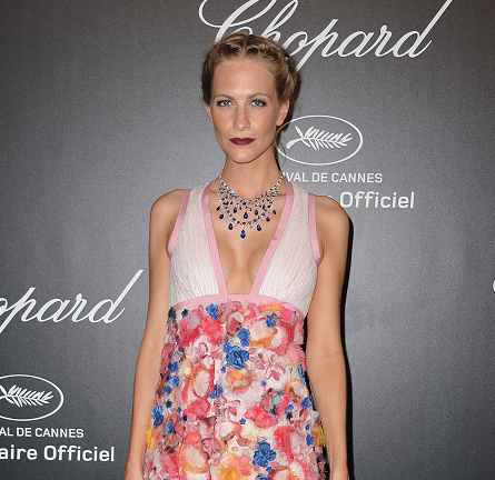 Poppy Delevingne in Chanel Couture | Chopard Gold Party - 2015 Cannes Film Festival