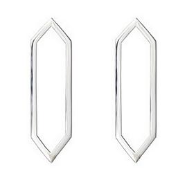 Rachel Katz Jewelry Medium Marquis Earrings in 14kt White Gold with White Diamonds
