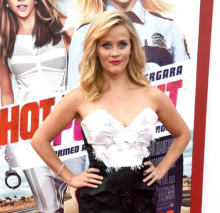 Reese Witherspoon in Prabal Gurung | 'Hot Pursuit' Hollywood Premiere