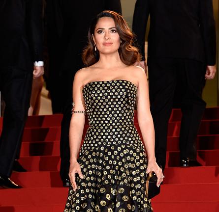 Salma Hayek in Alexander McQueen | 'Tale of Tales' Premiere - 2015 Cannes Film Festival
