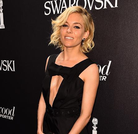 Sienna Miller in Prada | Hollywood Reporter & Swarovski Party - 2015 Cannes Film Festival