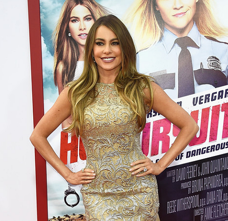 Sofia Vergara in Georges Chakra Couture | 'Hot Pursuit' Hollywood Premiere