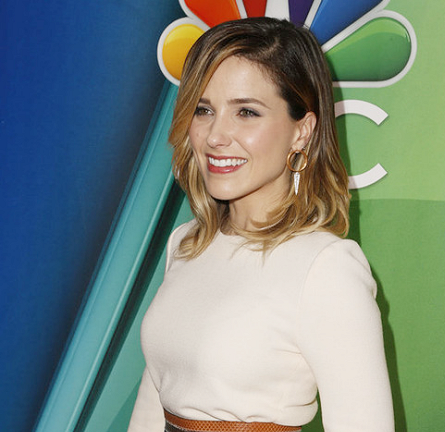 Sophia Bush in Jill Stuart | NBC Upfronts 2015