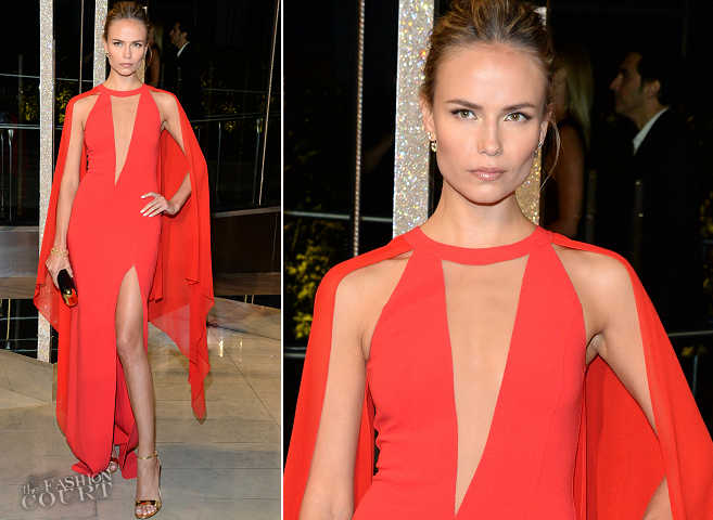 Natasha Poly in Michael Kors | 2015 CFDA Fashion Awards