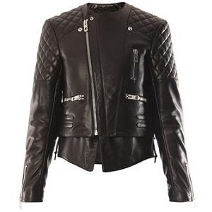 Balenciaga Quilted Biker Jacket