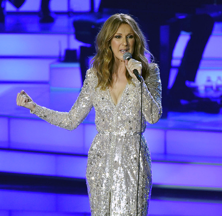 Celine Dion in Zuhair Murad Couture | Caesars Palace Residency Return