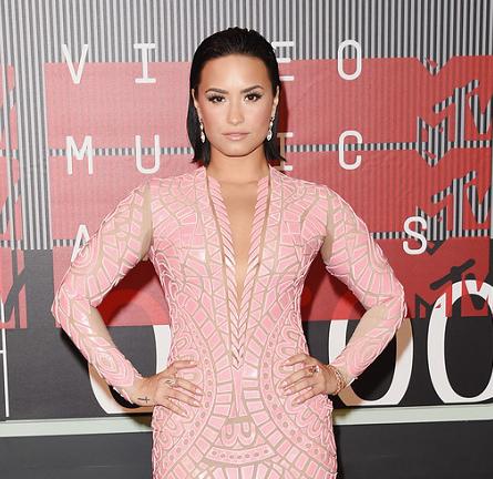 Demi Lovato in Nicolas Jebran | MTV VMAs 2015