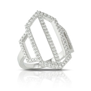 Doves by Doron Paloma Gold and Diamond Ring