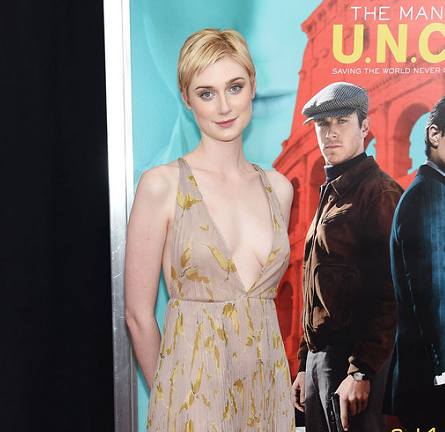 Elizabeth Debicki in Valentino | 'The Man from U.N.C.L.E.' NYC Premiere