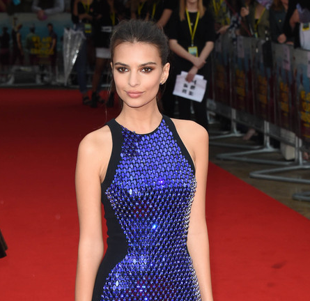 Emily Ratajkowski in David Koma | 'We Are Your Friends' London Premiere