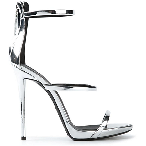 Giuseppe Zanotti 'Harmony' Metallic Sandals