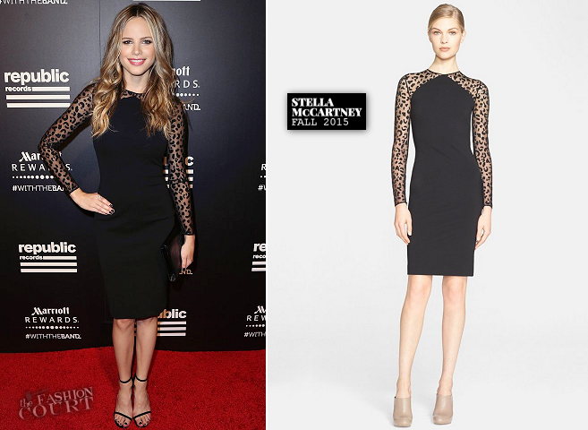 Halston Sage in Stella McCartney | Republic Records Private Post-VMA 2015 Party