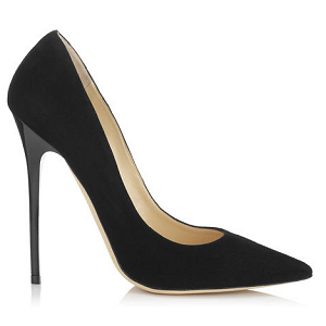 Jimmy Choo 'Anouk' Black Pumps