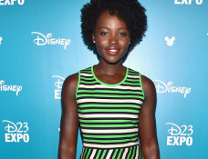 Lupita Nyong'o in Lanvin | Disney's D23 EXPO 2015 - Day 2