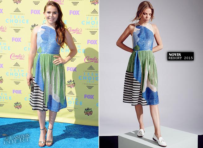 Mae Whitman in Novis   Teen Choice Awards 2015